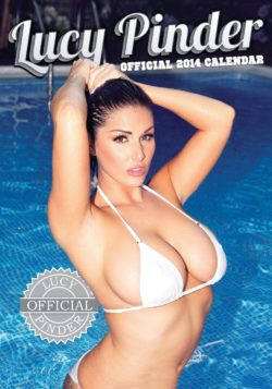 Lucy Pinder in the pool