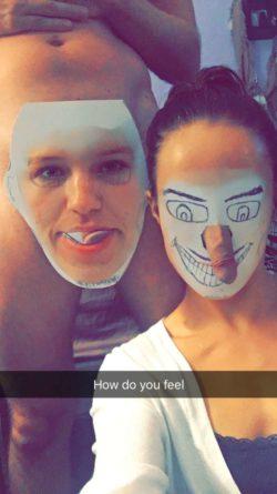 Megan Rain tries faceswap