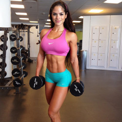 Michelle Lewin looking great as usual