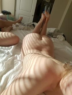 My boy[f]riend loves cumming on my big ass! P.S. I love it too!