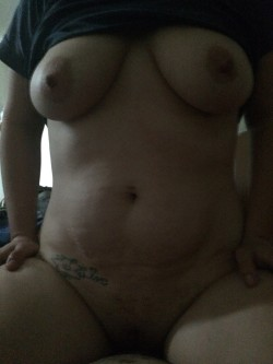 My wife doesn't think she has a sexy body I beg to differ I love her thick body what do you think?