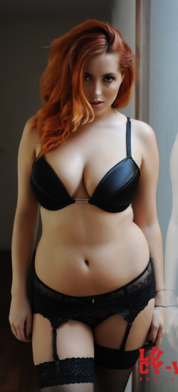 Nice thick redhead