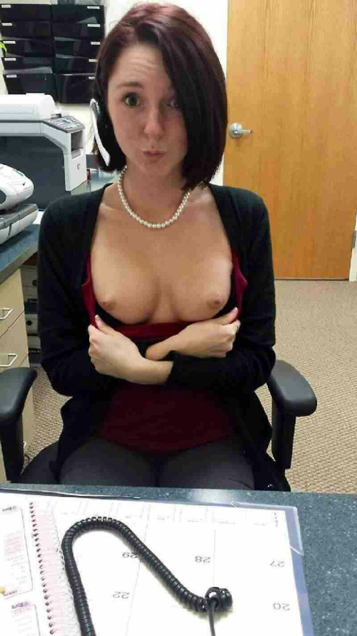 Office tits
