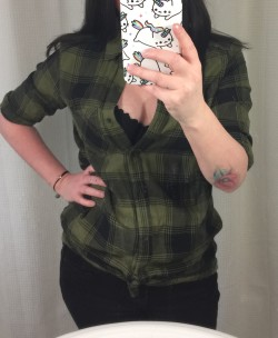 Peekaboo flannel
