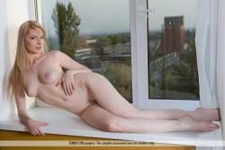 Rosalia blonde nude pose
