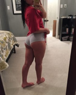 She definitely squats