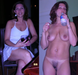 She's always thirsty