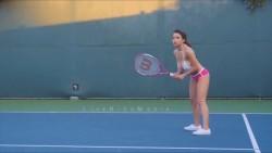 bikini tennis