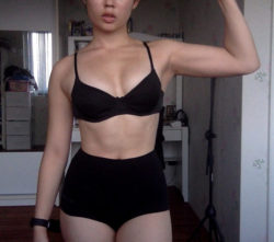 Started to take my fitness more seriously :3