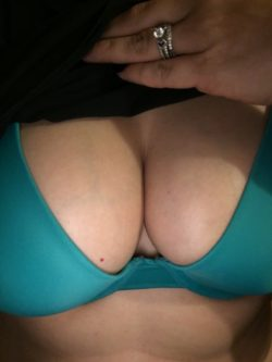 Titties and wedding rings! Always makes the day better