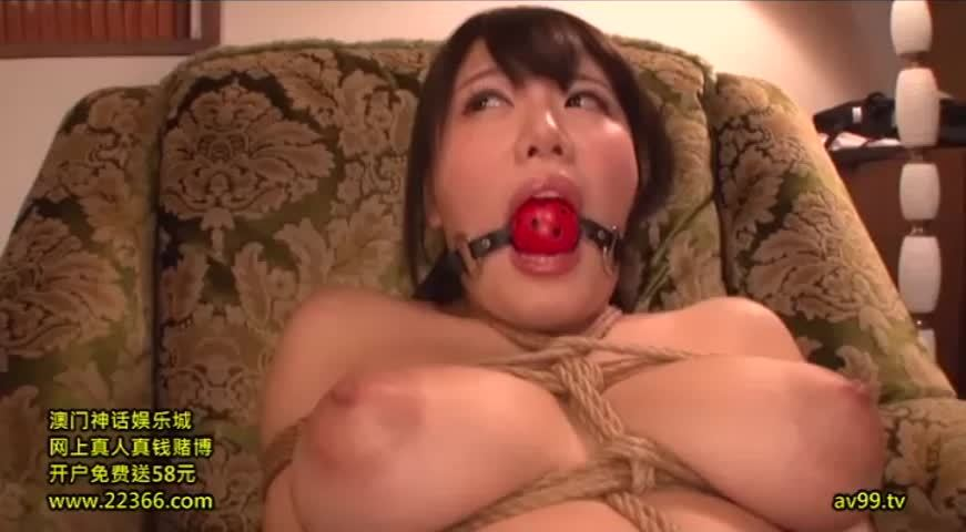 Mao Hamasaki - Messy Messy Blowjobs While Tied Up