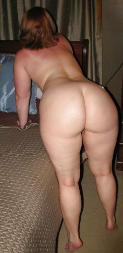 White ass