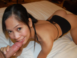 Lengthy-legged Filipina stunner meets with tourist in hotel for some hawt hookup