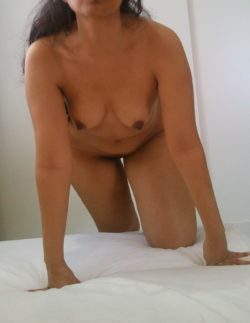 crawling into bed (f)