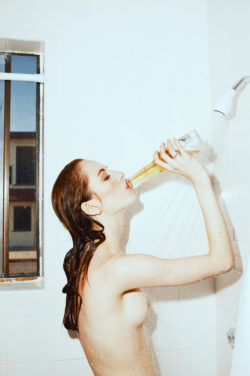 A shower beer sounds fantastic on a hot day like today