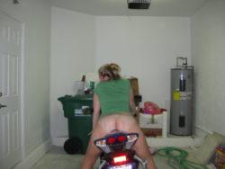 Ass view