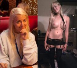 Beautiful fake boobs