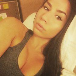 Bed time selfie