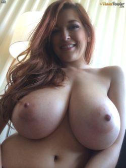 Big Pale tits