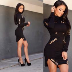 Black dress - Francy