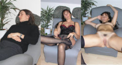 Brunette - from here to there - from well behaved to very horny