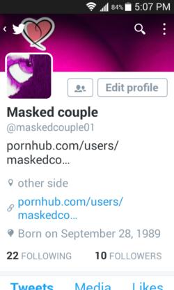 Cum follow us on Twitter