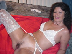 Discarded panties