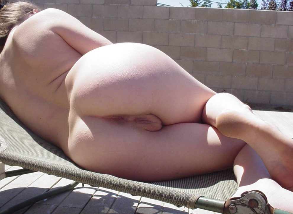 Fell asleep in the backyard ;)