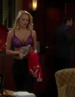 Hunter Haley King has a couple of big plots on The Young and the Restless