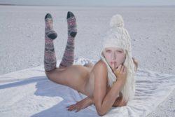 In A Snowy Desert