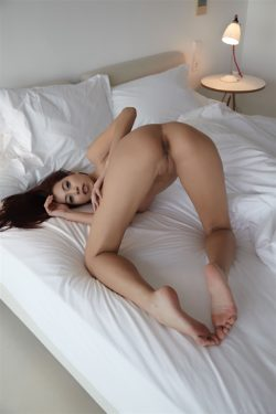 Inviting on white sheets