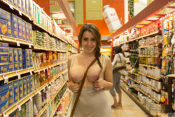 Lanie at the grocery store [IMG]