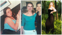 Learning to love my curves. Progress through the years.
