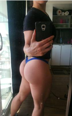 Massive white booty