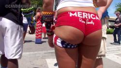 Merica rave booty!