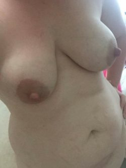 More of my wife. She loves the idea of others looking at her nude body. What do you think? Ill let her read your comments.