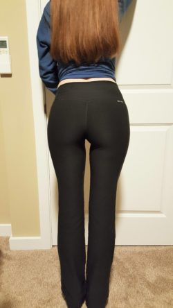 My girlfriend thought her ass looked great today