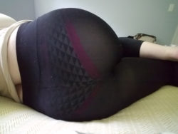 My leggings might be a bit see through...