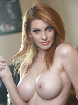 Nude Busty Redhead