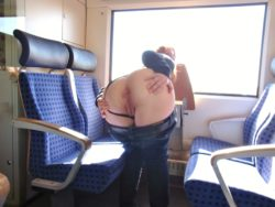 Pants down on the train (from /r/DarkBitsNPieces)