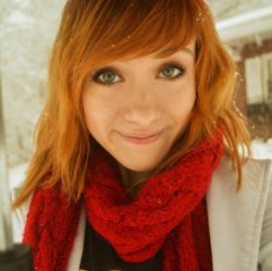 Red Scarf Red Hair