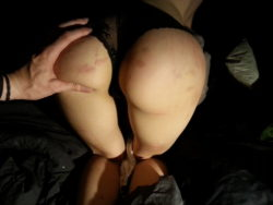 Spanked booty is good booty [f]