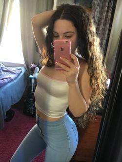 Tight white top