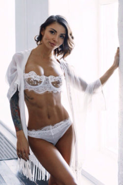 White and ripped
