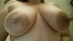 Wife's big titties