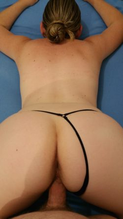 You like this view of my wife?