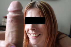 as you can see.... She loves the cock....