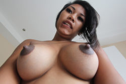 Attractive Thai beginner with nice knockers will get fucked and creamed