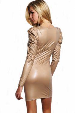 long sleeved tight dress