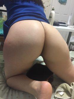 loving my gf's ass lately